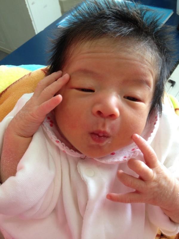 <p>浜崎</p> ベビーです。はじめまして!