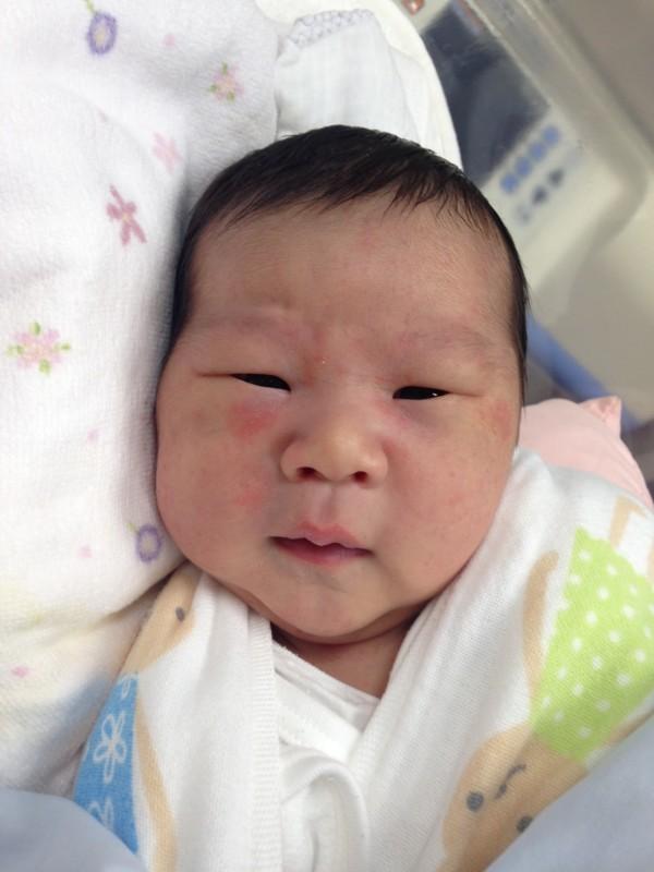 <p>松田</p> ファミリーに新しい一員が加わりました。