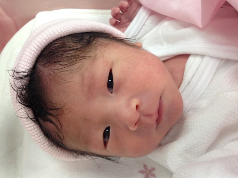 <p>田中</p> ファミリーに新しい一員が加わりました。